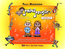 Minimusic Program Cover